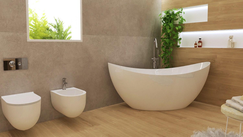 Plantas na casa de banho