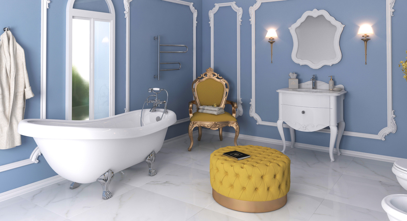 Casa de banho clássica Smile Bath